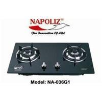 Bếp gas âm kính Napoliz NA 036G1