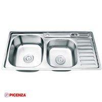 hậu rửa bát Inox Picenza PZ9 9245B